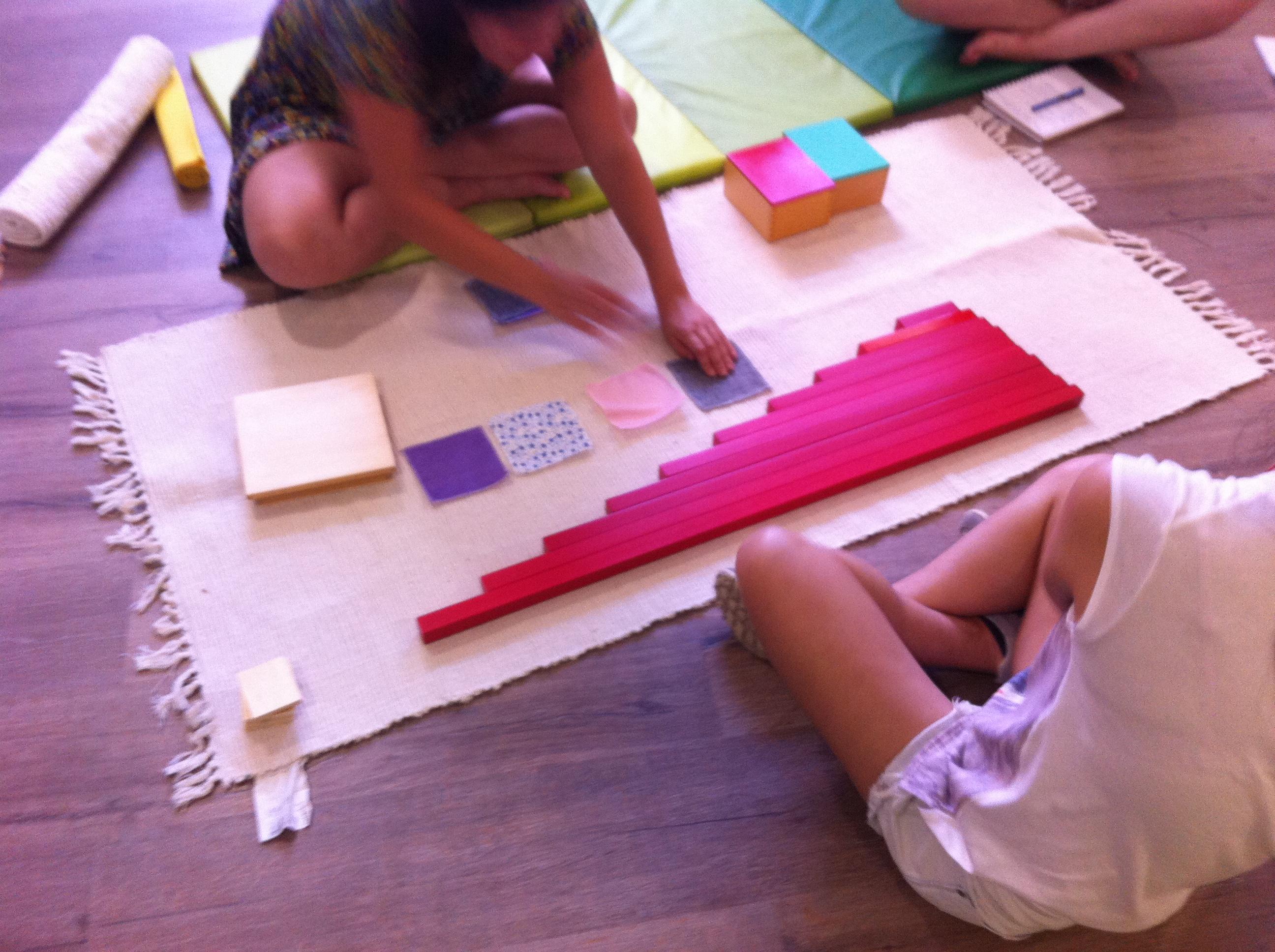 Montessori en El Petit Panda