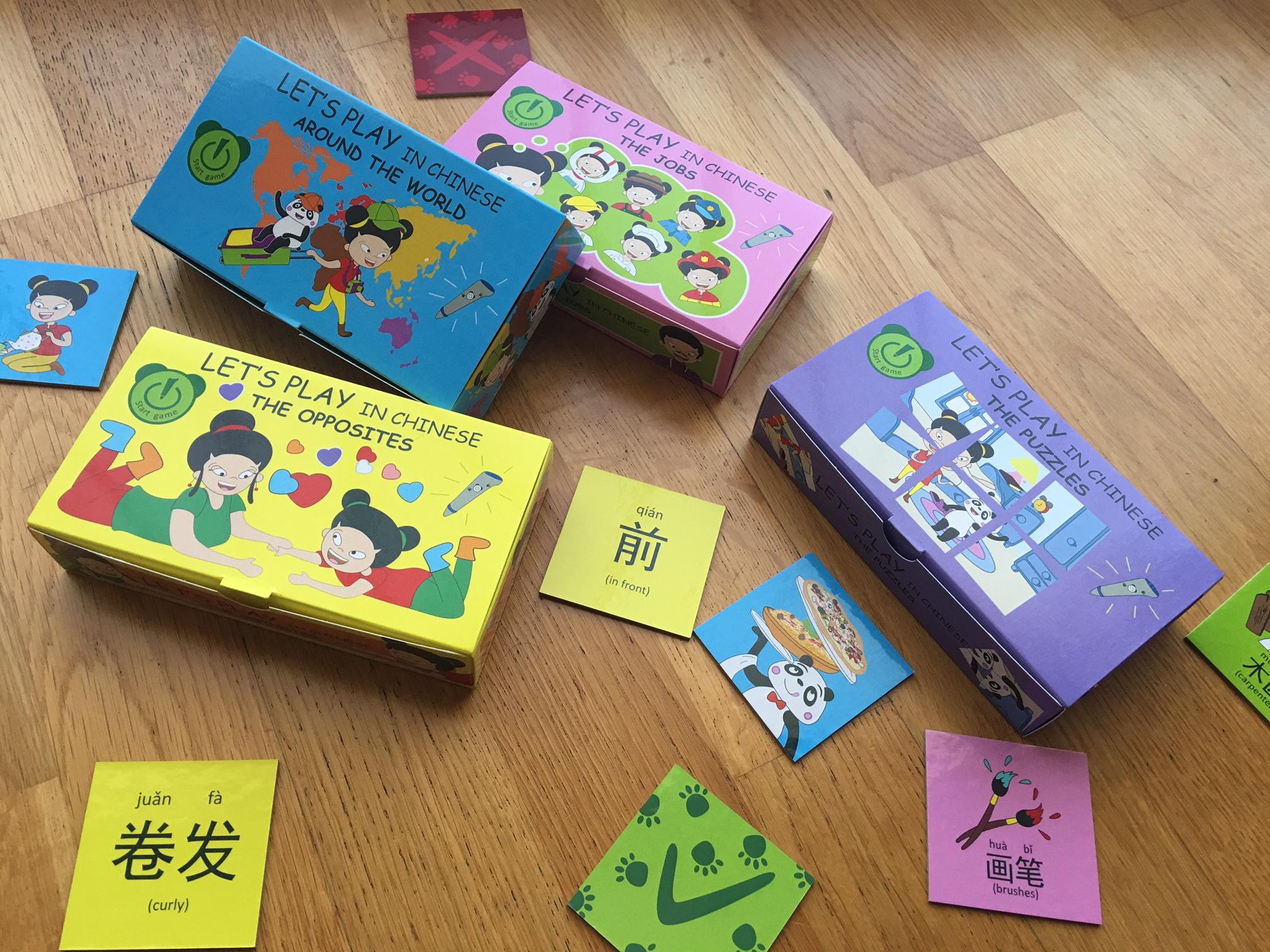 Nou! Let's Play in chinese – Jocs interactius en xinès by El Petit Panda